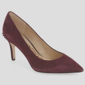 SamEdelman Tonia Spiky Maroon Heels